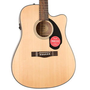 CD-60SCE DREADNOUGHT NATURAL WITH ELECTRONICS