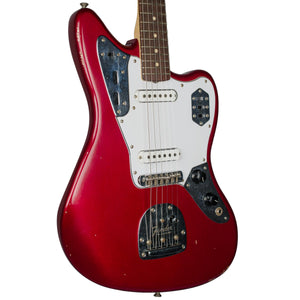 FENDER ROAD WORN 60S JAGUAR CANDY APPLE RED