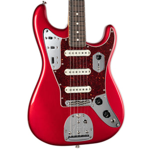 FENDER PARALLEL UNIVERSE LIMITED EDITION JAGUAR STRAT- CANDY APPLE RED