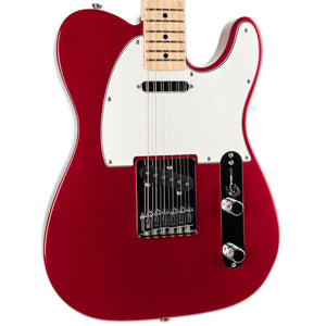 USED FENDER 2017 STANDARD TELECASTER CANDY APPLE RED WITH CASE