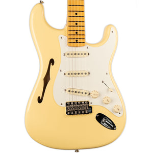 FENDER ERIC JOHNSON SIGNATURE THINLINE STRATOCASTER VINTAGE WHITE