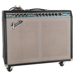 VINTAGE 1974 FENDER TWIN REVERB ALL ORIGINAL W/FOOTSWITCH