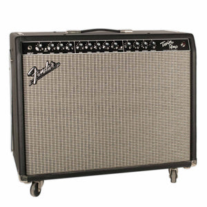 USED FENDER TWIN WITH TREM WITH FOOTSWITCH