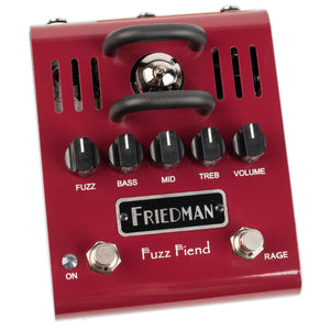 FRIEDMAN FUZZ FIEND TUBE FUZZ PEDAL WITH EXTREME SWITCH