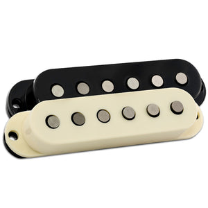 FRIEDMAN PICKUP- CLASSIC SINGLE COIL  BRIDGE- INCLUDES BLACK AND IVORY COVERS