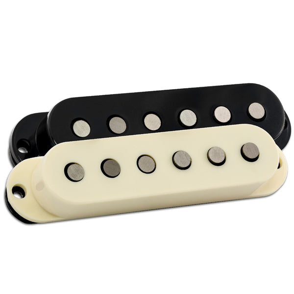 FRIEDMAN PICKUP- CLASSIC SINGLE COIL  MIDDLE- INCLUDES BLACK AND IVORY COVERS