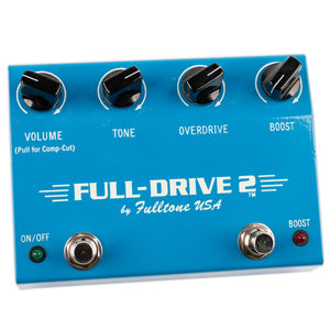 USED FULLTONE FULLDRIVE 2 -EARLY HANDWIRED VERSION WITH BOX