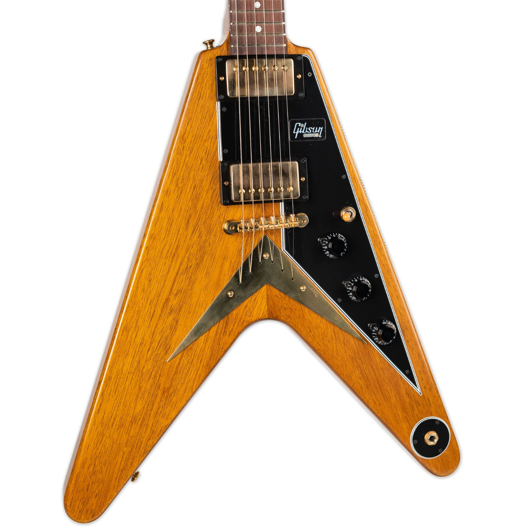 USED GIBSON CUSTOM SHOP FLYING V WITH CASE