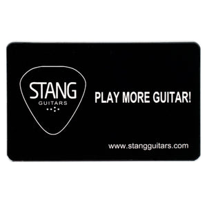 $100 STANG GUITARS GIFT CARD