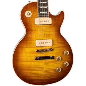 USED GIBSON LES PAUL CLASSIC GUITAR OF THE WEEK (14) P90'S ICED TEA BURST WITH CASE