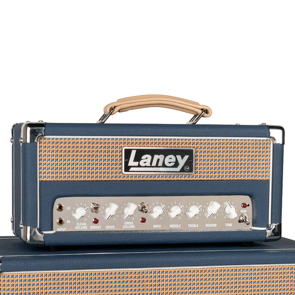 USED LANEY LIONHEART L5 HEAD WITH FOOTSWITCH AND COVER