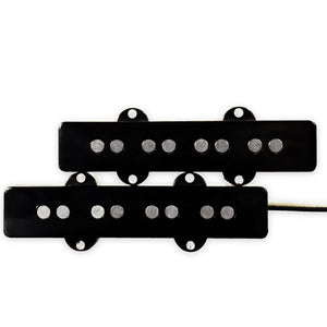 LINDY FRALIN JAZZ BASS PICKUP SET, BLACK
