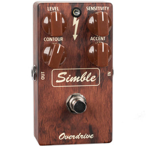 USED MAD PROFESSOR SIMBLE OVERDRIVE WITH BOX