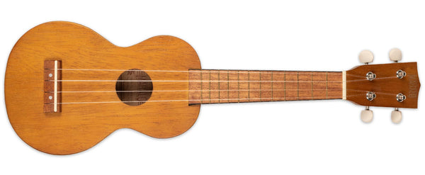MAHALO SOPRANO UKULELE WITH BAG TRANS BROWN
