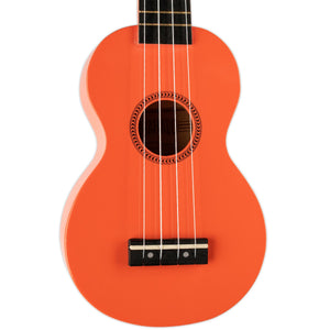 MAHALO SOPRANO UKULELE W/BAG ORANGE