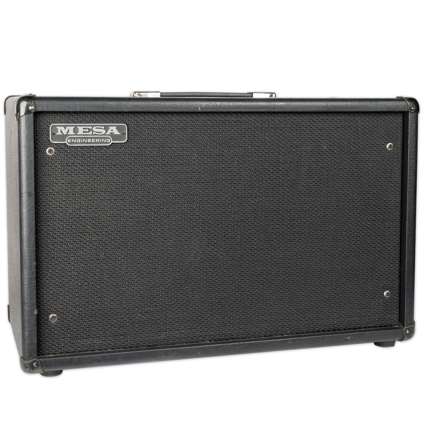 USED MESA BOOGIE 2X12 CABINET WITH BLACK SHADOW SPEAKERS