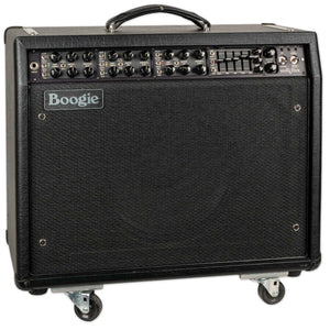 USED MESA BOOGIE MARK V 1X12 COMBO WITH FOOTSWITCH, MANUAL, AND COVER