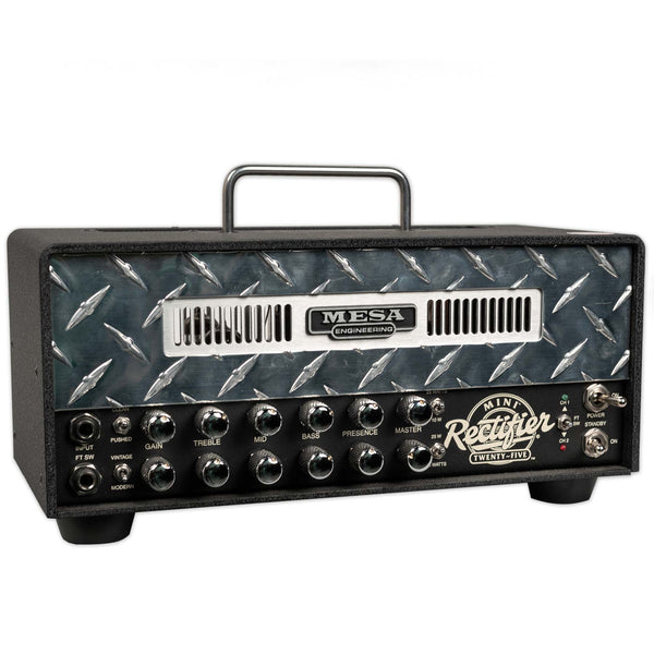 USED MESA BOOGIE MINI RECTIFIER 25 HEAD WITH BAG