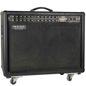USED MESA BOOGIE DUAL RECTIFIER ROADKING II 2X12 COMBO WITH COVER AND FOOTSWITCH