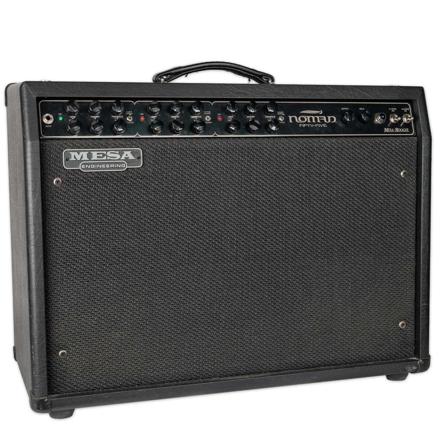 USED MESA BOOGIE NOMAD 55 2X12 COMBO WITH FOOTSWITCH AND MANUAL