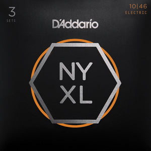 D'ADDARIO NYXL REGULAR LIGHT 10-46 3 PACK