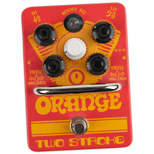 USED ORANGE TWO-STROKE PARAMETRIC EQ WITH BOX
