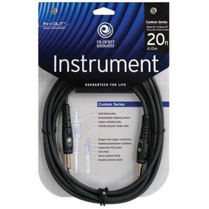 PLANET WAVES CUSTOM 20' INSTRUMENT CABLE