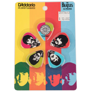 PLANET WAVES BEATLES SGT. PEPPERS PICK PACK- THIN