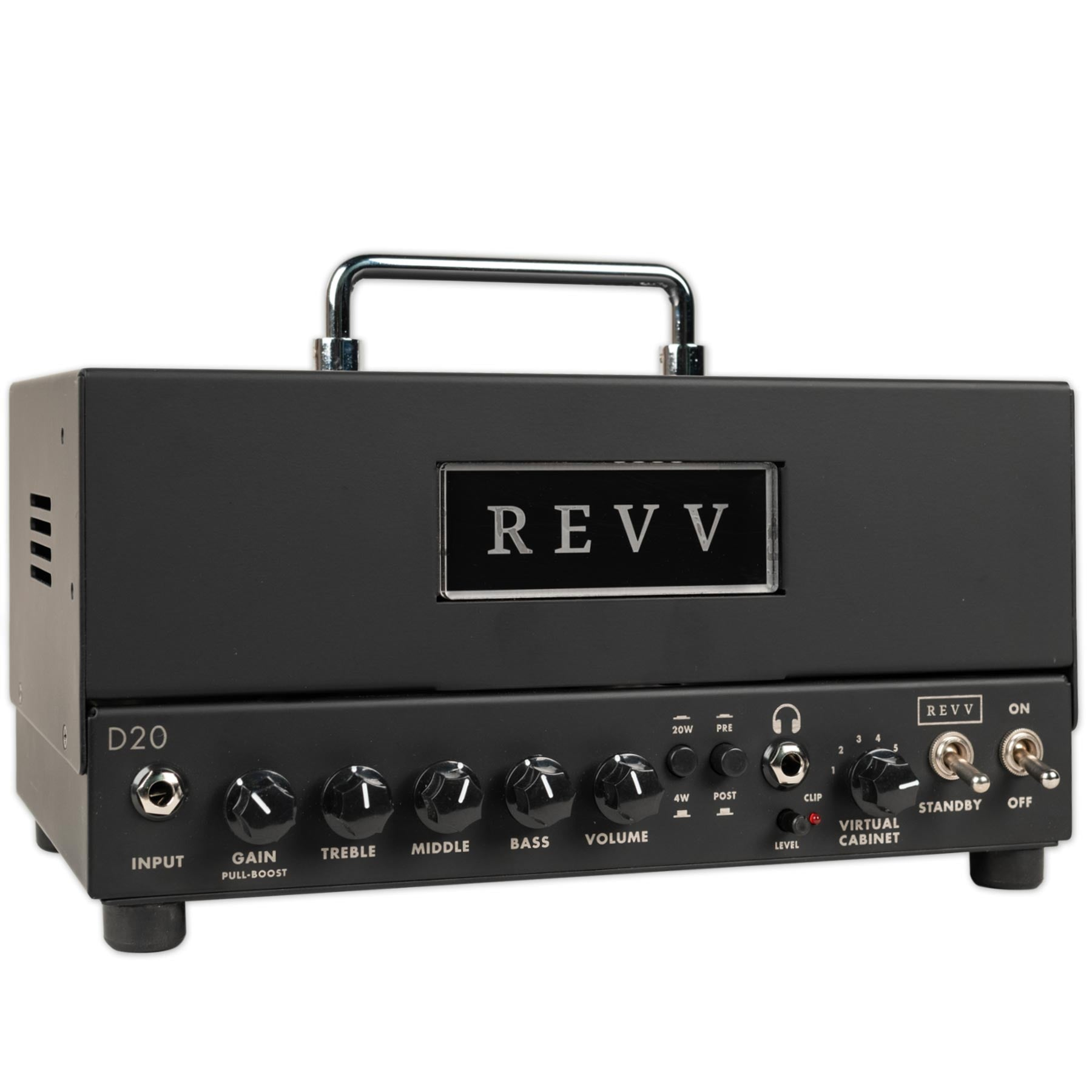 REVV D20 TWO NOTES TORPEDO EMBEDDED LUNCHBOX GUITAR AMPLIFIER
