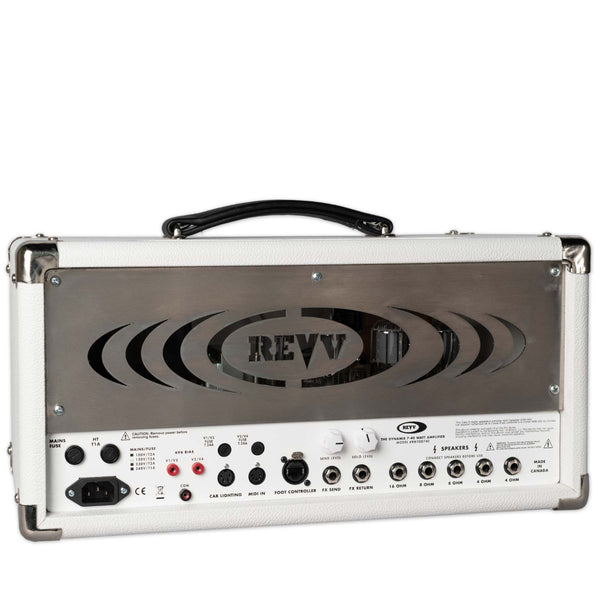 USED REVV DYNAMIS HEAD WHITE WITH FOOTSWITCH