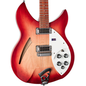 USED RICKENBACKER 330 FIREGLO W/CASE