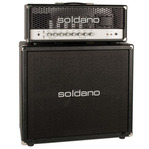 USED SOLDANO SLO SUPERLEAD OVERDRIVE HEAD W/MATCHING 2X12