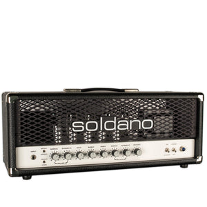 USED SOLDANO SLO SUPERLEAD OVERDRIVE HEAD W/ FOOTSWITCH