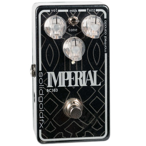 USED SOLIDGOLD FX IMPERIAL FUZZ WITH BOX
