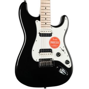 SQUIER CONTEMPORARY STRATOCASTER HH- BLACK METALLIC