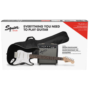 SQUIER STRAT PACK BLACK