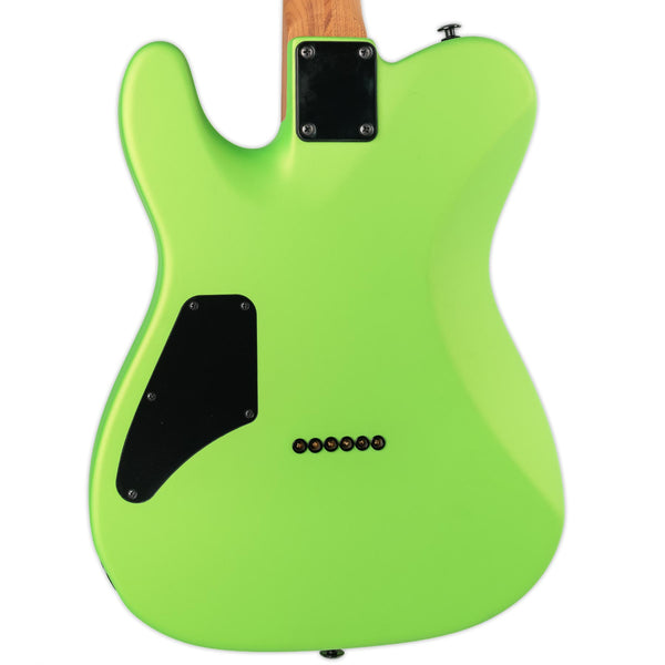 SUHR CUSTOM CLASSIC T- LIME FREEZE, SWAMP ASH, ROASTED MAPLE NECK