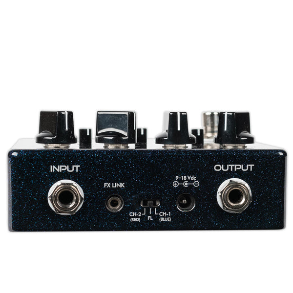 SUHR LIMITED EDITION GALACTIC ECLIPSE DUAL CHANNEL OVERDRIVE/DISTORTION PEDAL