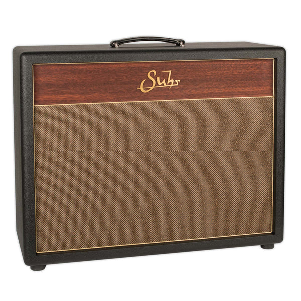 SUHR HEDGEHOG 2X12 CABINET BLACK W/ GOLD GRILL CLOTH