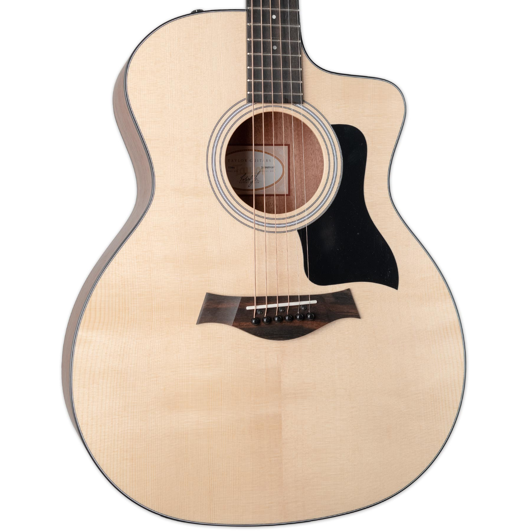 TAYLOR 114CE WALNUT/SITKA ACOUSTIC ELECTRIC GUITAR