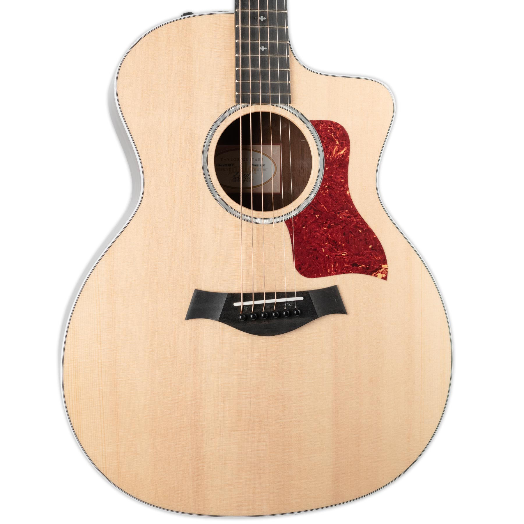TAYLOR 214CE-CF DLX COPAFERA BACK AND SIDES ACOUSTIC ELECTRIC GUITAR