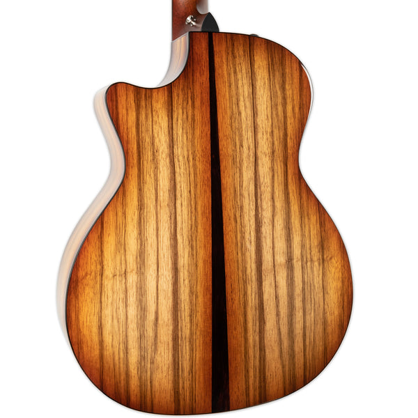 TAYLOR 414CE LTD ACOUSTIC ELECTRIC BLACK LIMBA BACK AND SIDES SHADED EDGE BURST