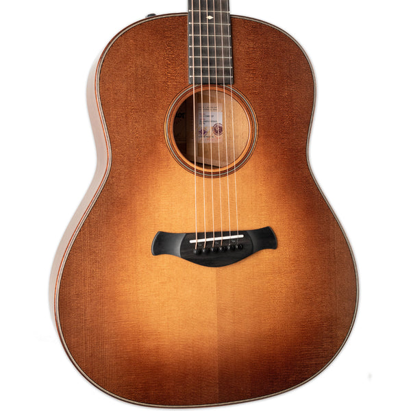 TAYLOR BUILDER'S EDITION 517e SILENT SATIN GRAND PACIFIC V-CLASS BRACING WILD HONEY BURST