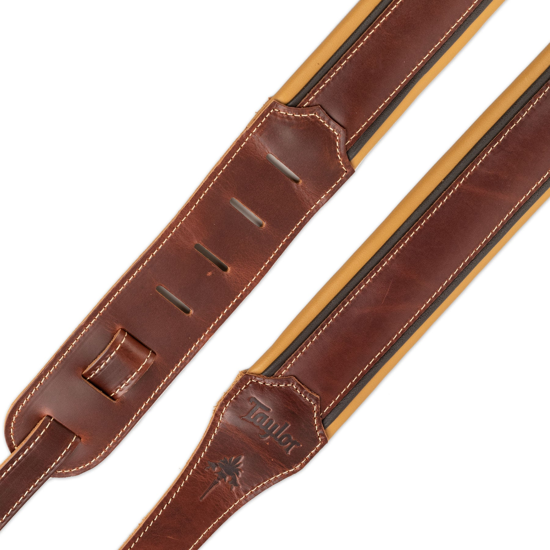 "TAYLOR 9250-04 ASCENSION 2.5"" GUITAR STRAP CORDOVAN LEATHER"