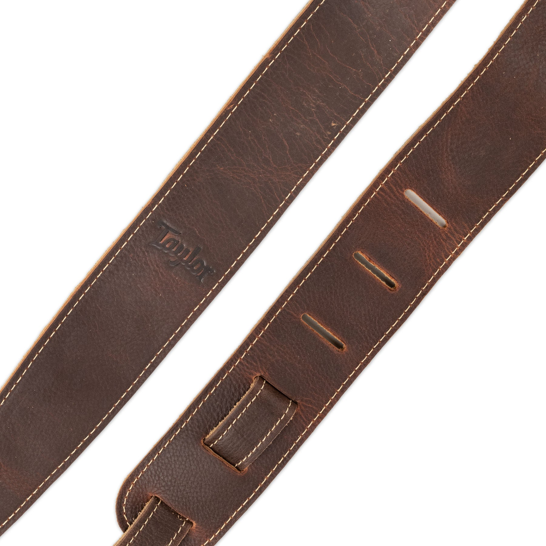 "TAYLOR TL250-05 2.5"" BROWN LEATHER/SUEDE BACK GUITAR STRAP"
