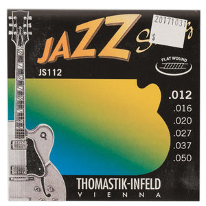 THOMASTIK-INFELD JAZZ SWING FLATWOUND ELECTRIC GUITAR SET .012-.050