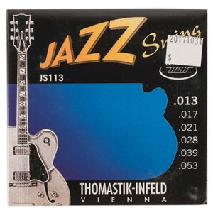 THOMASTIK-INFELD JAZZ SWING FLATWOUND ELECTRIC GUITAR SET .013-.053