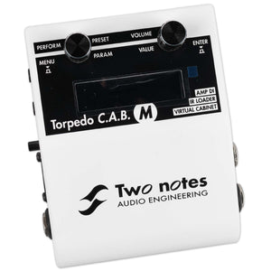 TWO NOTES TORPEDO CAB M PEDALBOARD SIZED CABINET SIMULATOR