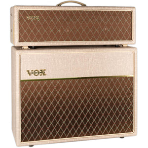 USED VOX AC30HW2 HAND-WIRED HEAD W/ MATCHING CAB AND COVERS