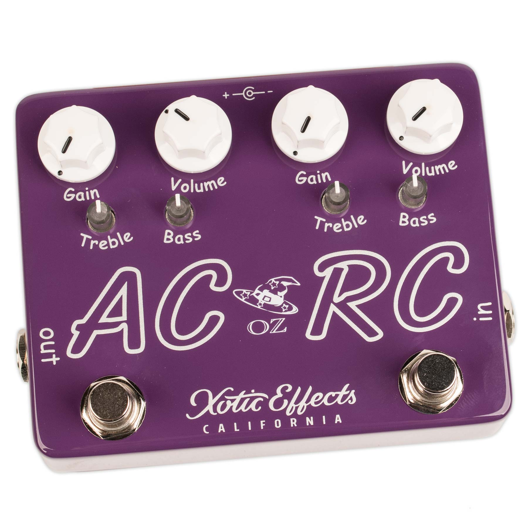 XOTIC AC/RC-OZ OZ NOY LIMITED EDITION BOOST/OVERDRIVE PEDAL